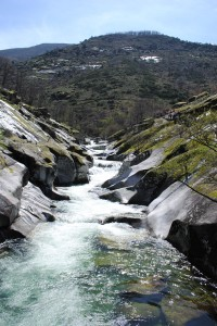 El río del Jerte después de 5 horas de caminata
